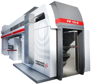 Fischer & Krecke FP15-S CI-flexographic printing press