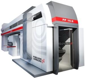 Fischer & Krecke FP15-S CI-flexographic printing press