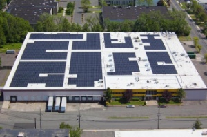 LPS Industries' new solar-panel roof
