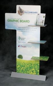 Pregis Hexacomb Falconboard Build POP-display paper-based board