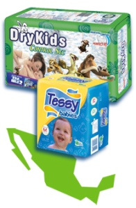 SCA DryKids Tessy Babies diapers