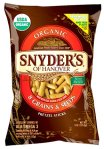 Snyders compostable pretzel bag