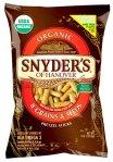 Snyders compostable pretzel bag