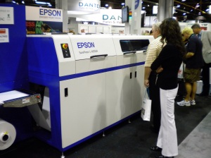 EPSON SurePress digital-inkjet press