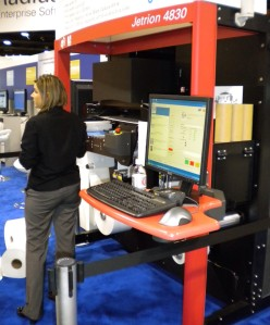 Jetrion 4830LED UV-inkjet digital press