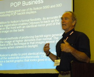 Odyssey Digital Printing president John Roberds