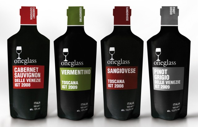 Oneglass wine pouches