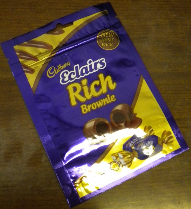 Cadbury Eclairs Rich Brownie bag