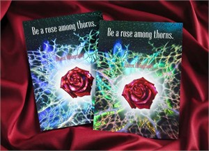 Hazen Paper Rose Among Thorns self-promotional insert