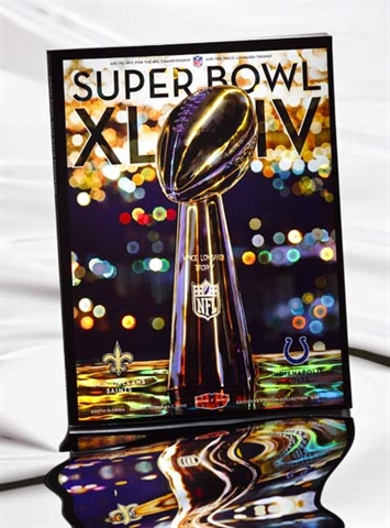 Hazen Paper Super Bowl XLIV holographic cover