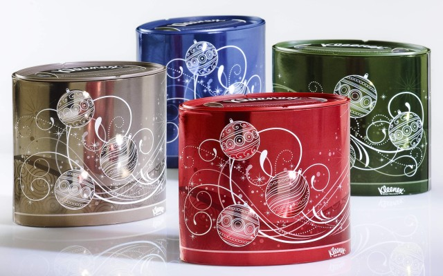 GPI Kleenex tissue oval canisters