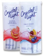 Crystal Light outer canisters