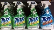 Tilex with shrink-sleeve labels