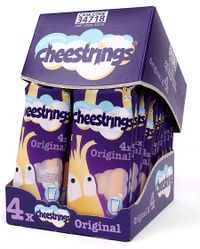 Cheestrings shelf-ready packaging
