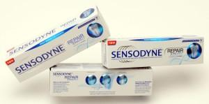 DuPont Sensodyne carton
