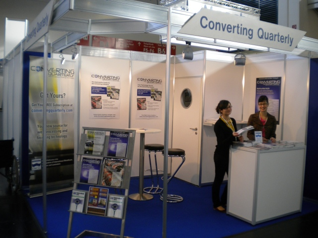 Converting Quarterly stand at ICE Europe 2011