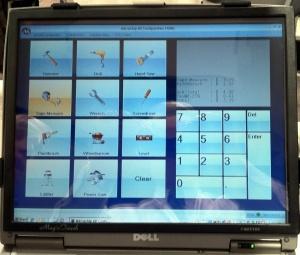 Kodak Heraeus touchscreen demo
