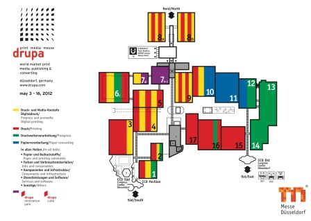 drupa2012FairgroundsLayout