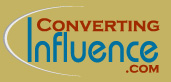 Converting Influence logo beige