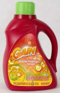 Gain detergent IML label