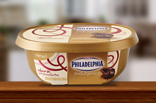 Kraft Philadelphia Cooking Creme tub with IML label