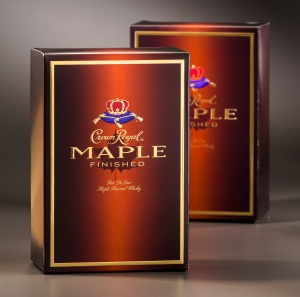 2013 AIMCAL Crown Royal Maple carton