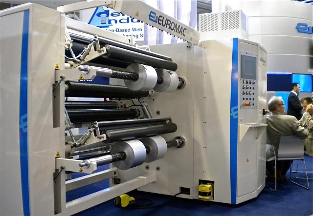 Euromac TB-3 slitter/rewinder