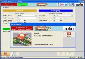 Rofin StarMAP software screenshot