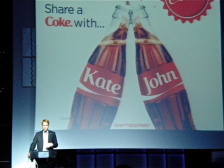 Greg Bentley of Coca-Cola Europe