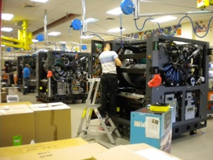 HP 20000 print engine assembly